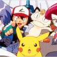 "Ash e a Equipe Rocket de ""Pokémon"""