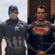 """Duelo """"Capitão América: Guerra Civil"""" ou """"Batman Vs Superman"""": qual filme a galera mais curtiu?"""