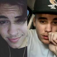 Biel ou Justin Bieber? Qual ídolo fica melhor de bigode? Vote e decida!