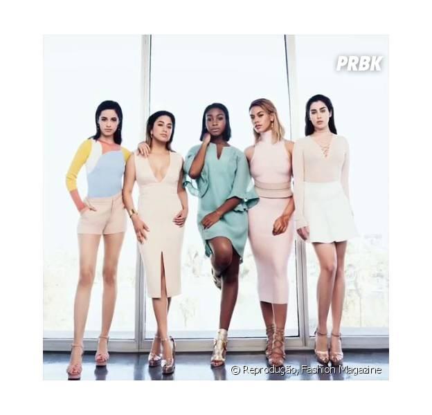 Veja o ensaio completo da banda Fifth Harmony na Fashion Magazine