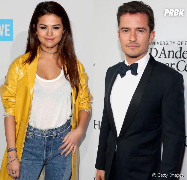 Selena Gomez e Orlando Bloom já foram apontados como um casal outras vezes