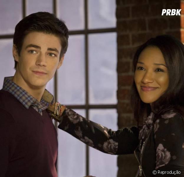 """Em """"The Flash"""", Barry (Grant Gustin) e Iris (Candice Patton) podem ficar juntos? Produtor esclarece dúvidas!"""