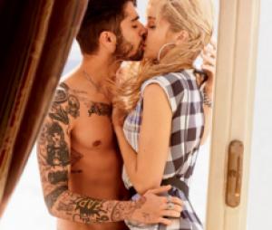 Zayn Malik e Gigi Hadid já fizeram ensaio apaixonado para a revista Vogue