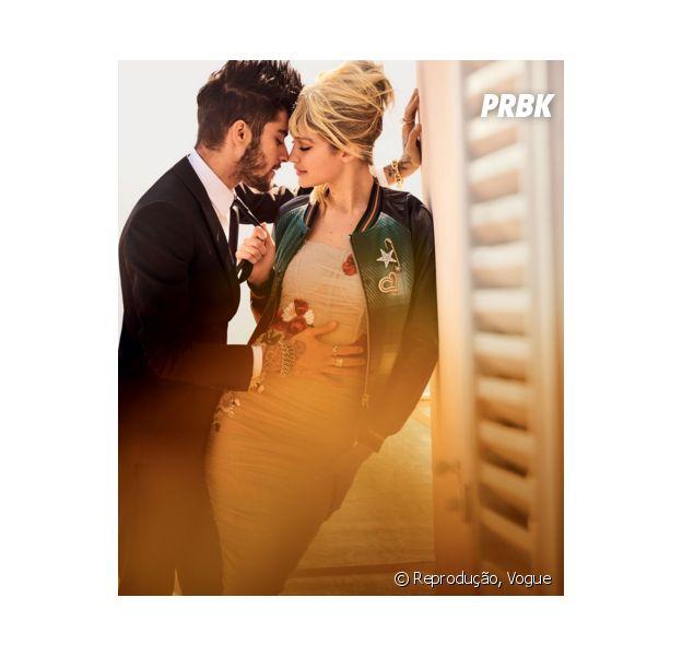 Gigi Hadid usa pingente com o nome de Zayn Malik!