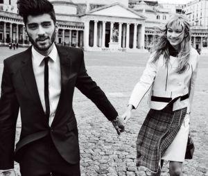 Zayn Malik e Gigi Hadid foram fotografados na Itália em ensaio romântico para a revista Vogue