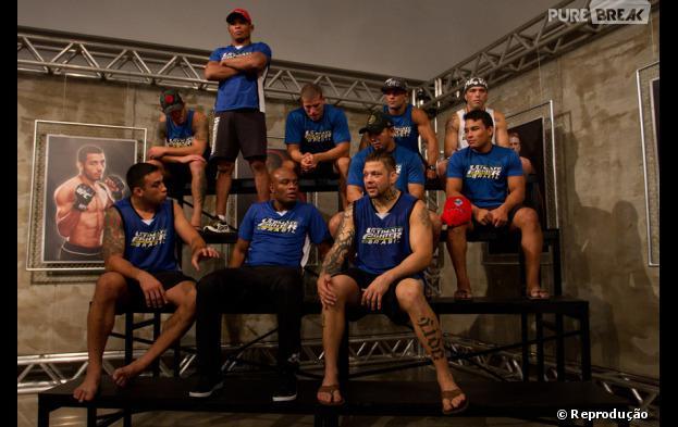 "Anderson Silva foi na casa da primeira temporada do ""The Ultimate Fighter Brasil""!"