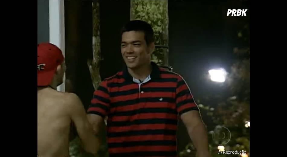 """Lyoto Machida também foi até a casa do """"The Ultimate Fighter Brasil"""" na primeira temporada"""