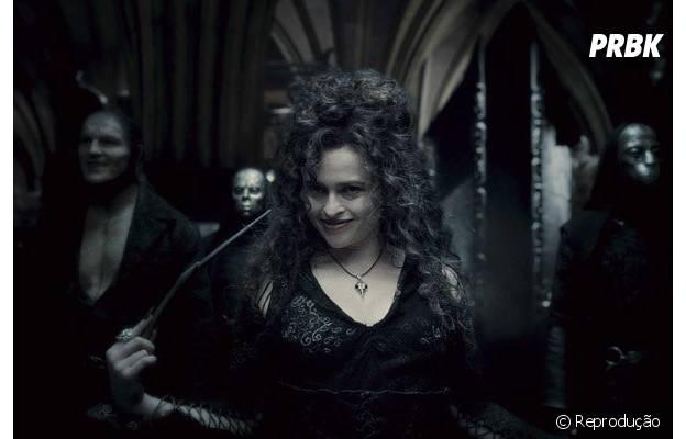 """Bellatrix Lestrange (Helena Bonham Carter) no filme """"Harry Potter e a Ordem da Fênix"""""""