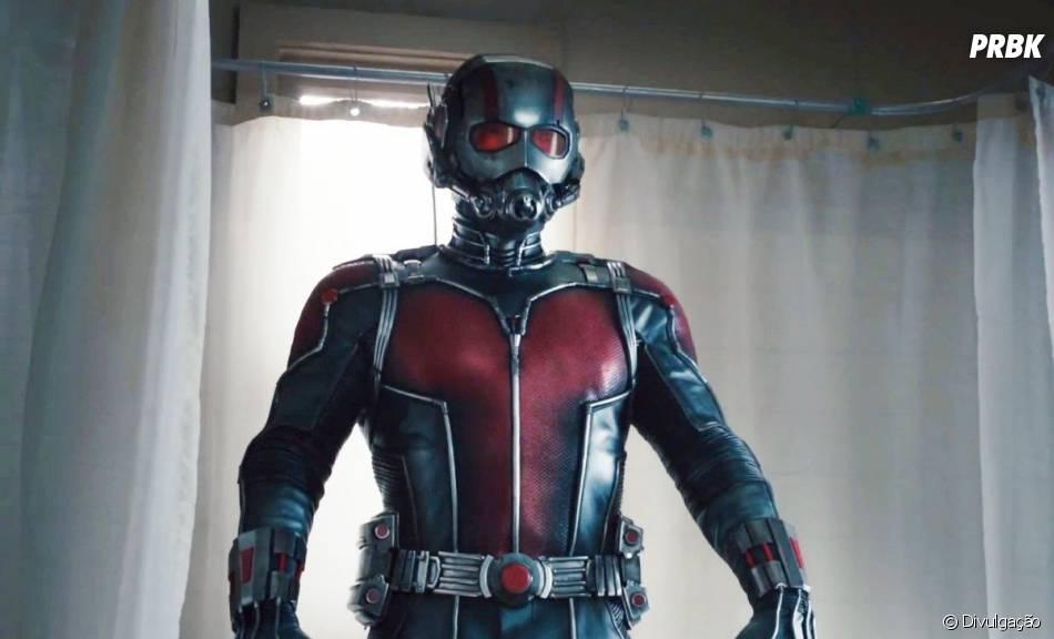 """Em """"Os Vingadores: Guerra Infinita"""", o Homem-Formiga (Paul Rudd) é presença confirmada!"""
