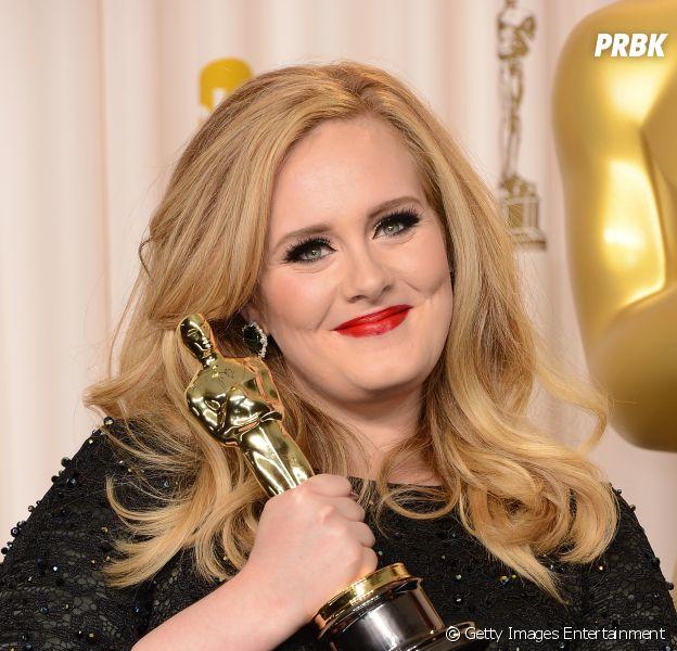 """Adele ganhou um Oscar de Melhor Canção Original em 2013 por """"Skyfall"""""""
