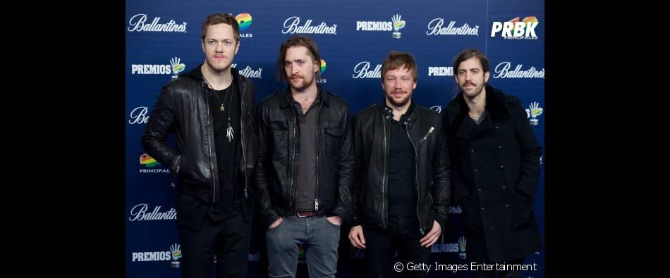 A banda Imagine Dragons é uma das bandas presentes no Lollapalooza 2014