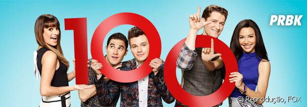 """Imagem Promocional do episódio 100 da série """"Glee"""""""