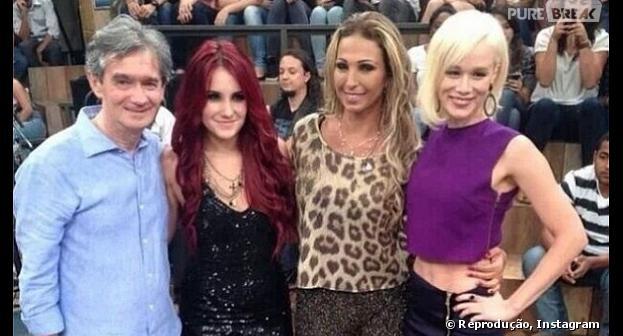 """Dulce Maria gravou """"Altas Horas"""" com Valesca Popozuda e Mariana Ximenes"""