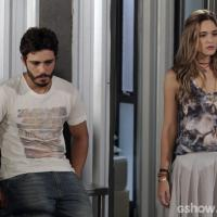 """Em """"Além do Horizonte"""": Lili briga com William por LC, mas fica desconfiada"""