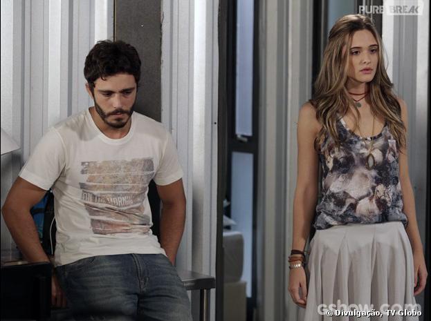 """Em """"Além do Horizonte"""", Lili (Juliana Paiva) ficará revoltada com William (Thiago Rodrigues)"""