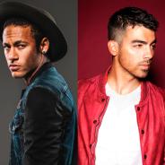 Neymar Jr. e Joe Jonas, da banda DNCE, curtem balada juntos nos Estados Unidos!