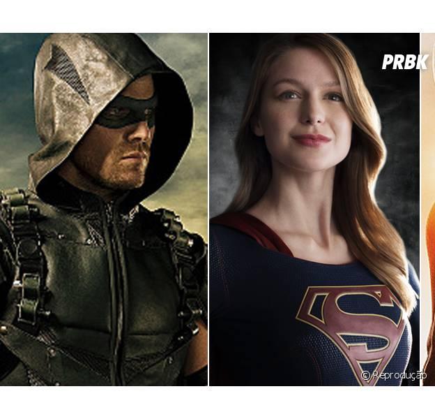 """De """"Arrow"""", Stephen Amell"""" diz que """"The Flash"""" é a maior série da The CW!"""