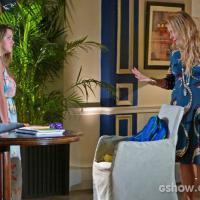 """Na novela """"Em Família"""": Shirley dá em cima de amigo da filha Bárbara"""