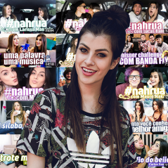 Nah Cardoso: como Larissa Manoela, relembre quem já pintou pelo canal da youtuber!