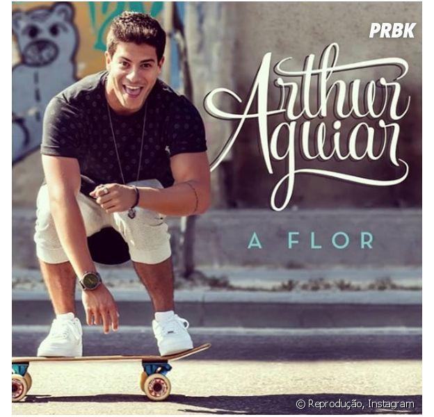 """Arthur Aguiar lança o single """"A Flor"""" no Spotify e fãs piram!"""