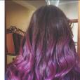 "Kéfera Buchmann, do ""5inco Minutos"", adotou cabelos roxos"