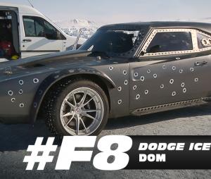 """Um Dodge Ice Charger todo baleado aparecerá em """"Velozes & Furiosos 8"""""""