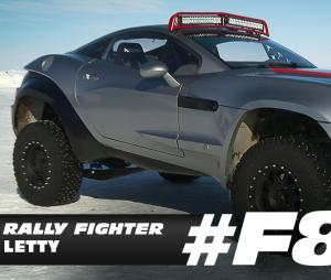 """Veja o Rally Fighter usado nas filmagens de """"Velozes & Furiosos 8"""""""