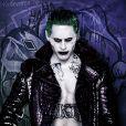 """Filme """"Esquadrão Suicida"""": Coringa (Jared Leto) estampa novo cartaz de produção"""