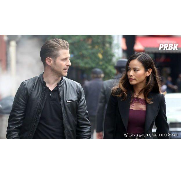 """Em """"Gotham"""": Gordon e Valerie Vale aparecem juntos em novas fotos divulgadas"""