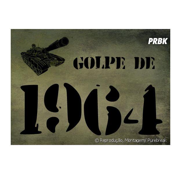 Dia 31 de março é lembrado como o dia do Golpe Militar de 1964