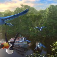"""Animação """"Rio 2"""" leva cerca de 1,3 milhão de brasileiros ao cinema"""
