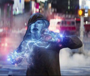 """Em """"O Espetacular Homem-Aranha 2"""",Electro (Jammie Foxx) é um dos vilões que vão perturbar o Homem-Aranha (Andrew Garfield)"""