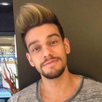 Lucas Lucco muda de visual com mesmo cabeleireiro de Luan Santana