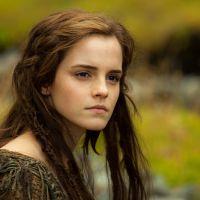 """Emma Watson ficou com lábios machucados após cena de beijo em """"Noé"""""""