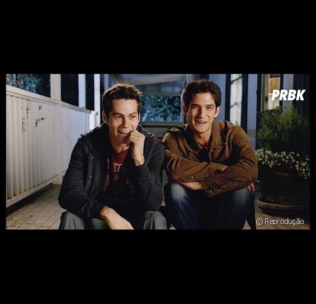 """Em """"Teen Wolf"""", relação de Stiles (Dylan O'Brien) e Scott (Tyler Posey) passa para outro nível!"""