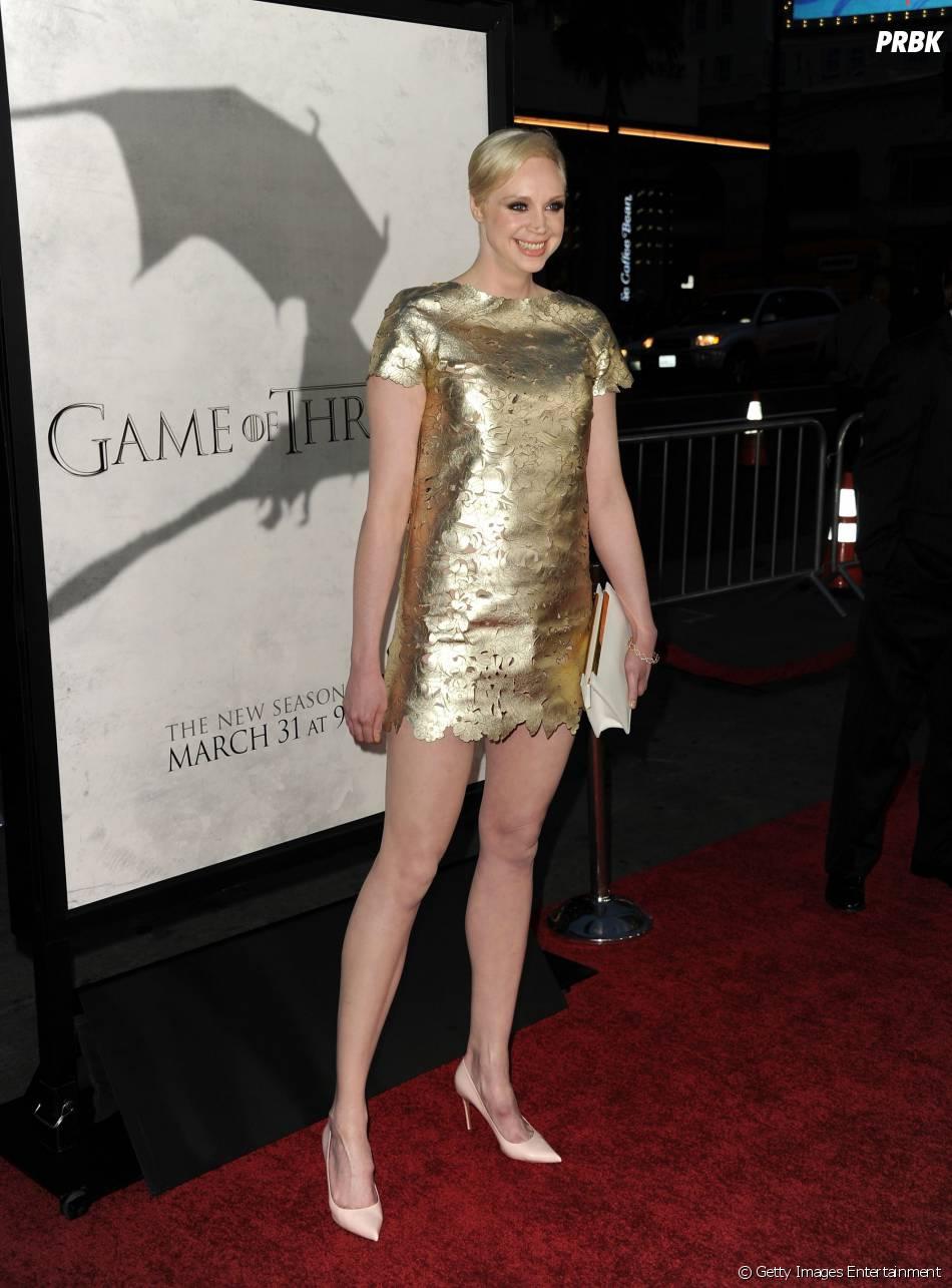 """Gwendoline Christie, que interpreta a guerreira linha dura Brienne of Tarth, é uma das atrizes que virá ao Brasil divulgar """"Game Of Thrones"""""""