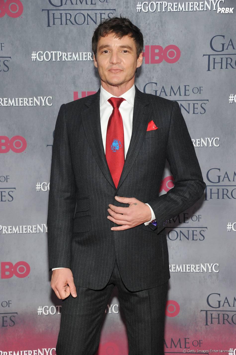 """O ator  Pedro Pascal, que dá vida à Oberyn Martell – ou Víbora Vermelha -, també virá ao Brasil divulgar a nova temporada de """"Game Of Trones"""""""