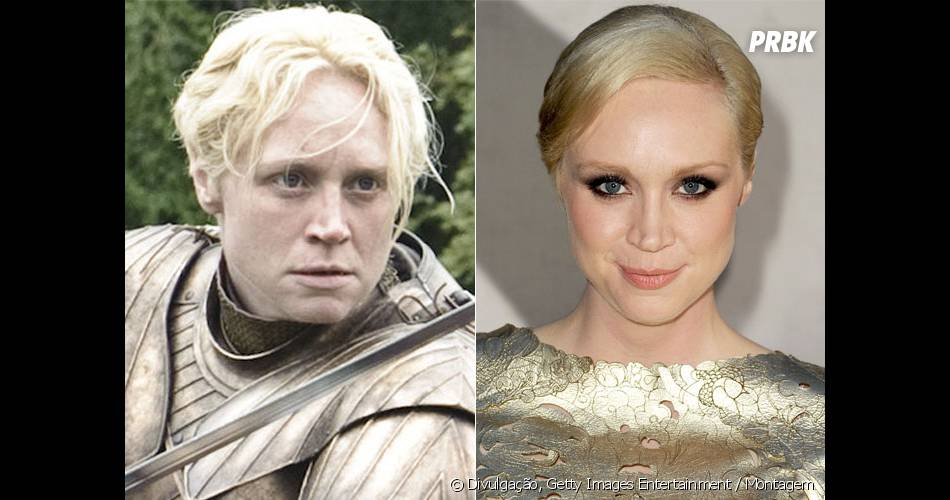 "Em ""Game Of Thrones"",  Gwendoline Christie interpreta a guerreira Brienne of Tarth"