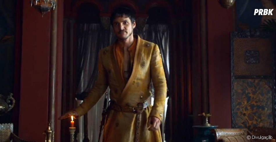 """Oberyn Martell, ou   Víbora Vermelha, promete trazer muitas supresas para a trama de """"Game Of Thrones"""""""