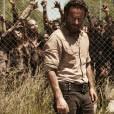 """Rick(Andrew Linconl) roubou a cenano último episódia da 4ª temporada de """"The WalkingDead"""""""