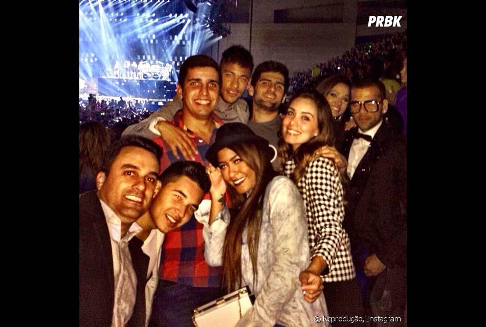 Recentemente, Neymar levou a irmã e os amigos para ver o show de Beyoncé em Barcelona, na Espanhã