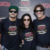 Lollapalooza: Caio Castro e Cleo Pires curtem último dia do festival