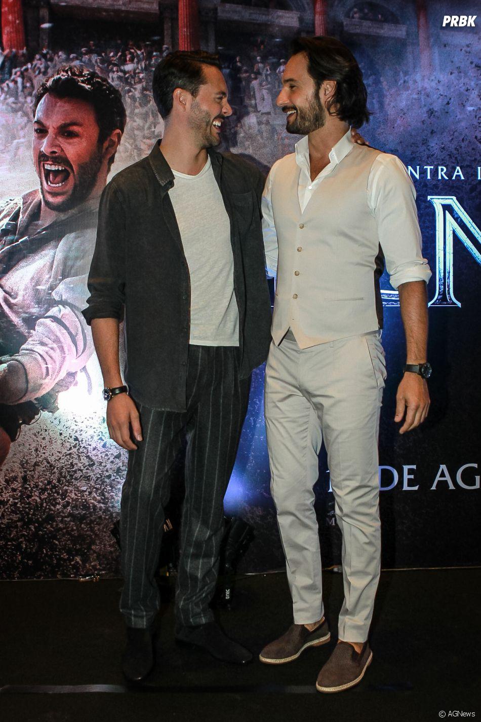 """Jack Huston é o protagonista do remake """"Ben-Hur"""", com Rodrigo Santoro"""