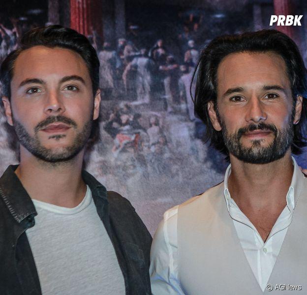 "Jack Huston e Rodrigo Santoro marcaram presença no lançamento de ""Ben-Hur"""