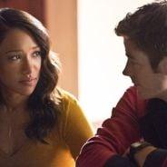 """Em """"The Flash"""": na 3ª temporada, Barry e Iris juntos? Casal aparece aos beijos em novas fotos!"""