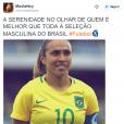 Marta é melhor que a Seleção masculina nas Olimpíadas Rio 2016? O Twitter acha que sim!