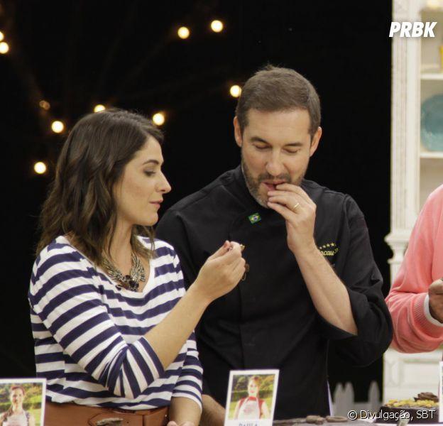 """No """"Bake Off Brasil"""": jurado especial ajuda a escolher semi finalista do reality!"""