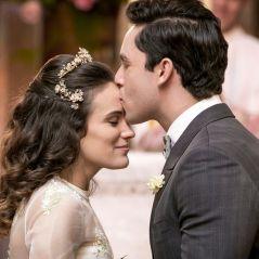 """Final """"Êta Mundo Bom!"""": Maria (Bianca Bin) e Celso se casam em cerimônia emocionante!"""