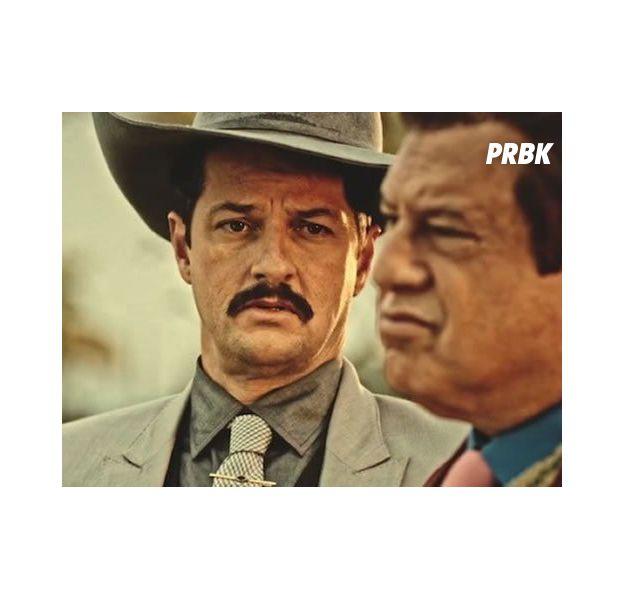 """Em """"Velho Chico"""", Carlos Eduardo (Marcelo Serrado) destrona Afrânio (Antonio Fagundes) e se torna novo coronel!"""