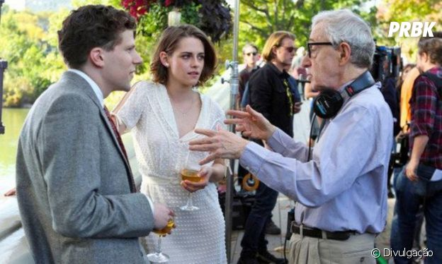 """Woody Allen dirige Kristen Stewart e Jesse Eisenberg no filme """"Café Society"""""""
